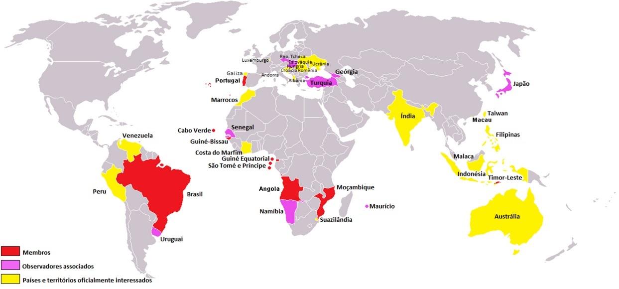 členské státy CPLP